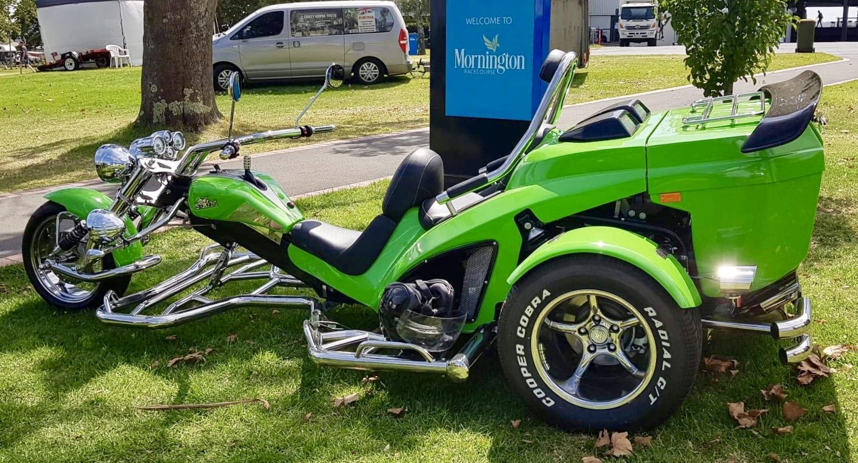 "2018 Boom Trike (Advance Model) "" Kermit"""