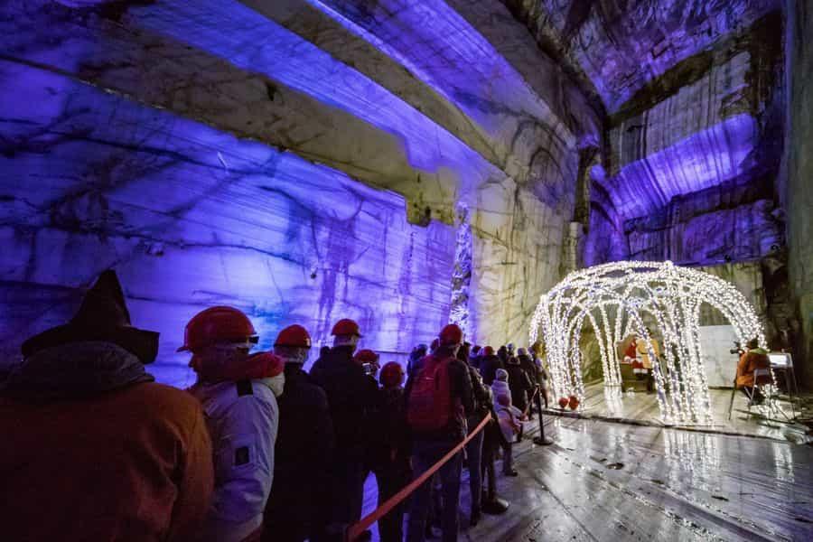 Apertura Grotta Di Babbo Natale Varese Press Giornale Online