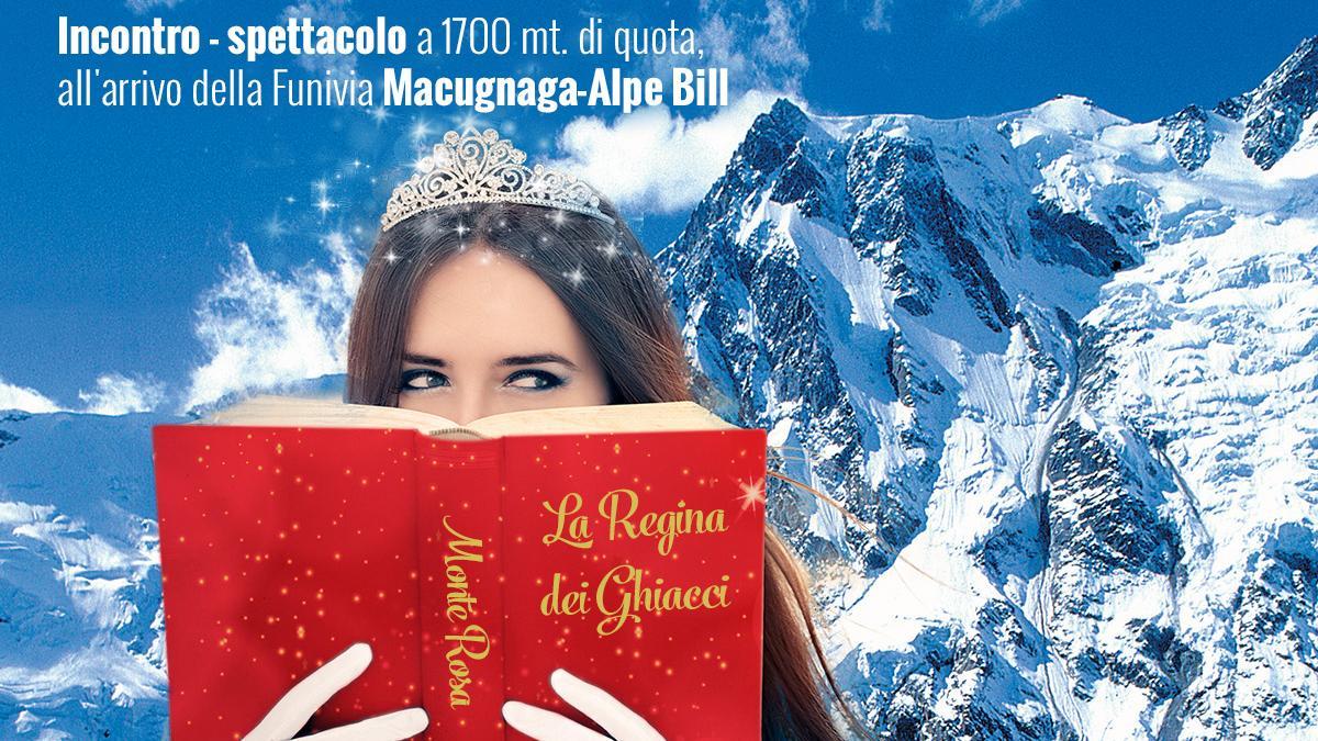 Salita in funivia Alpe Bill e incontro con la Regina dei ghiacci