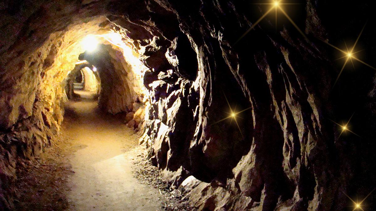 Visita della Miniera d'oro della Guia a Macugnaga: ricerca delle pepite