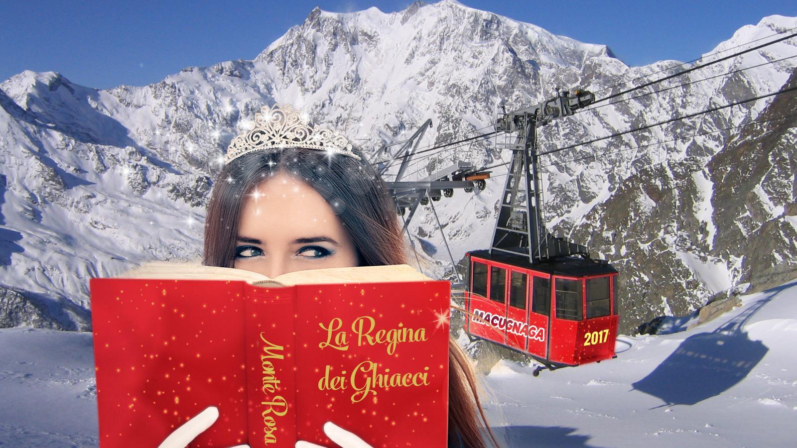 Incontro spettacolo con la Regina dei Ghiacci con salita in funivia all'Alpe Bill