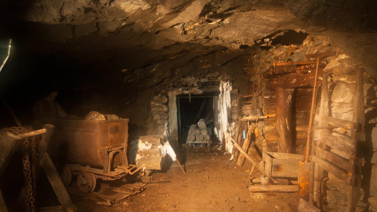 Miniera d'oro e ricerca delle pepite
