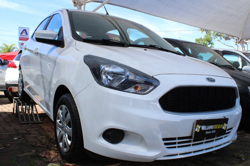 Ford Ka Se 1 0 Ha B 1 0 4 Portas 2018 Flex Branco Williams
