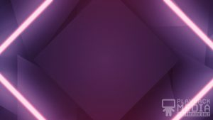 Shifting Geometry Purple Motion Background