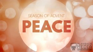 Advent Peace Motion Background