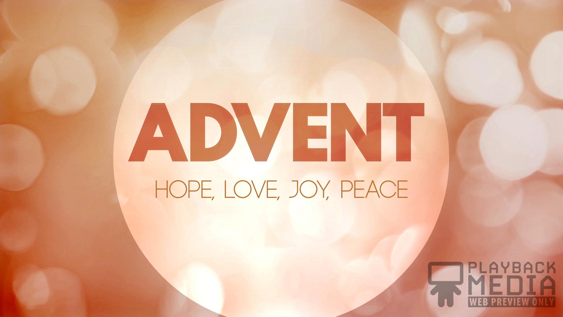 Advent Season Still Background