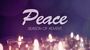 Advent Candles Peace Still Background