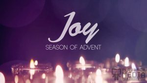 Advent Candles Joy Motion Background