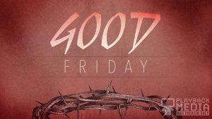 Redemption Good Friday Motion Background