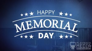 Memorial Day Motion Background