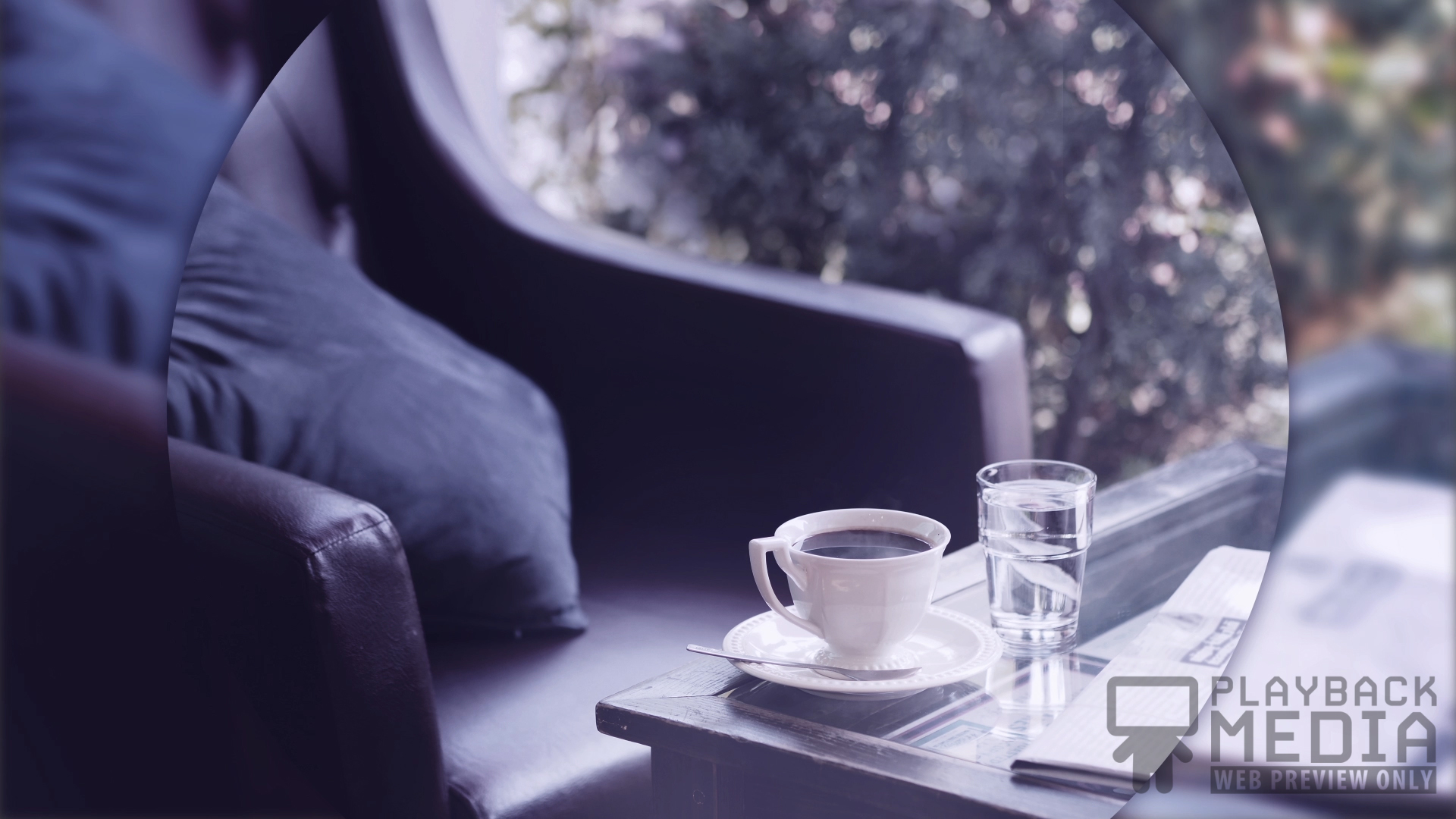 Coffee Break 1 Motion Background Image