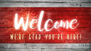 Festive 4th Welcome Still Background