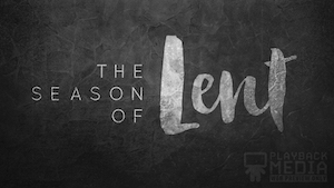 40 Days of Lent 1 Motion Background