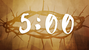 A Life of Sacrifice Church Countdown