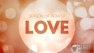 Advent Love Motion Background