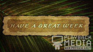 Ancient Palm Closing 1 Motion Background Image