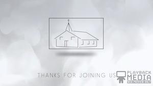 Back to Church Closing Still Background