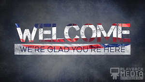 Basic Freedom Welcome Still Background