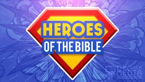 Bible Heroes Hero motion background