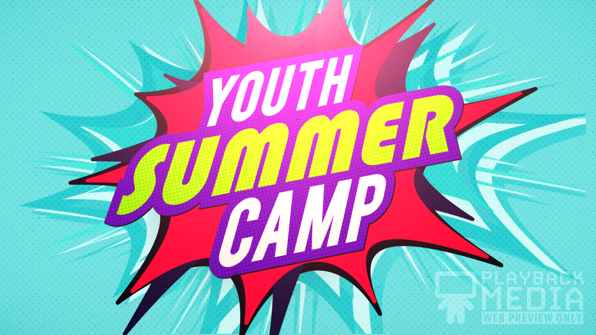 Bible Heroes Youth Summer Camp Motion Image