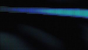 Blue Faux LED Motion Background Image