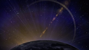 Blue Planet Motion Background