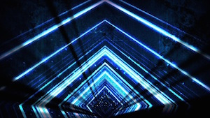 Blue Vortex Motion Background