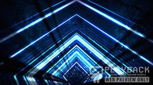 Blue Vortex Still Background