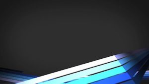 Blue 3D Lines Motion Background