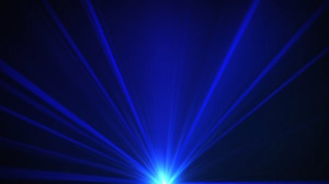 Blue Laser Motion Background