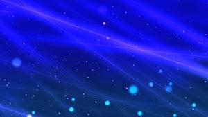 Blue Light Beams Motion Background