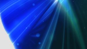 Blue Light Sphere Motion Background