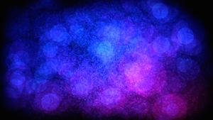 Blue Sparkling Dirt Motion Background