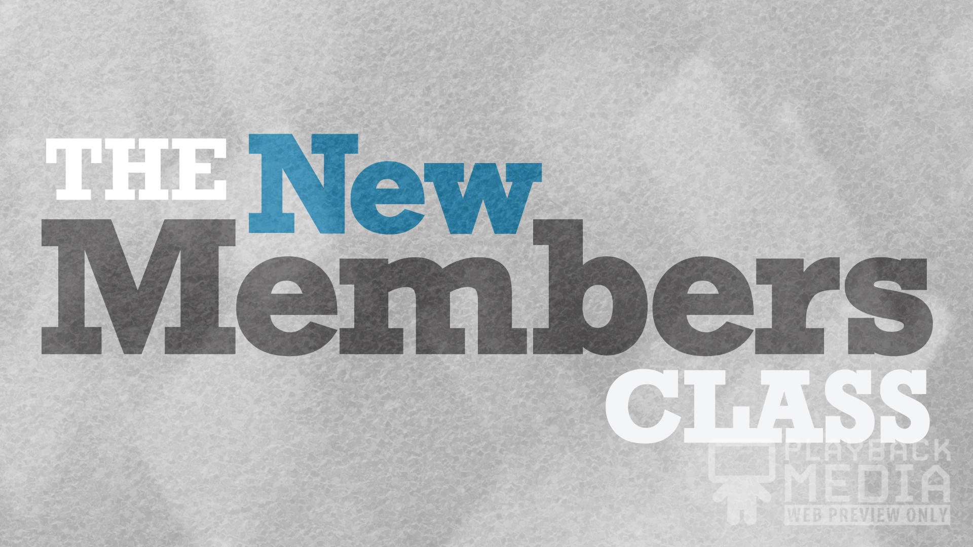 bold impression new members motion background