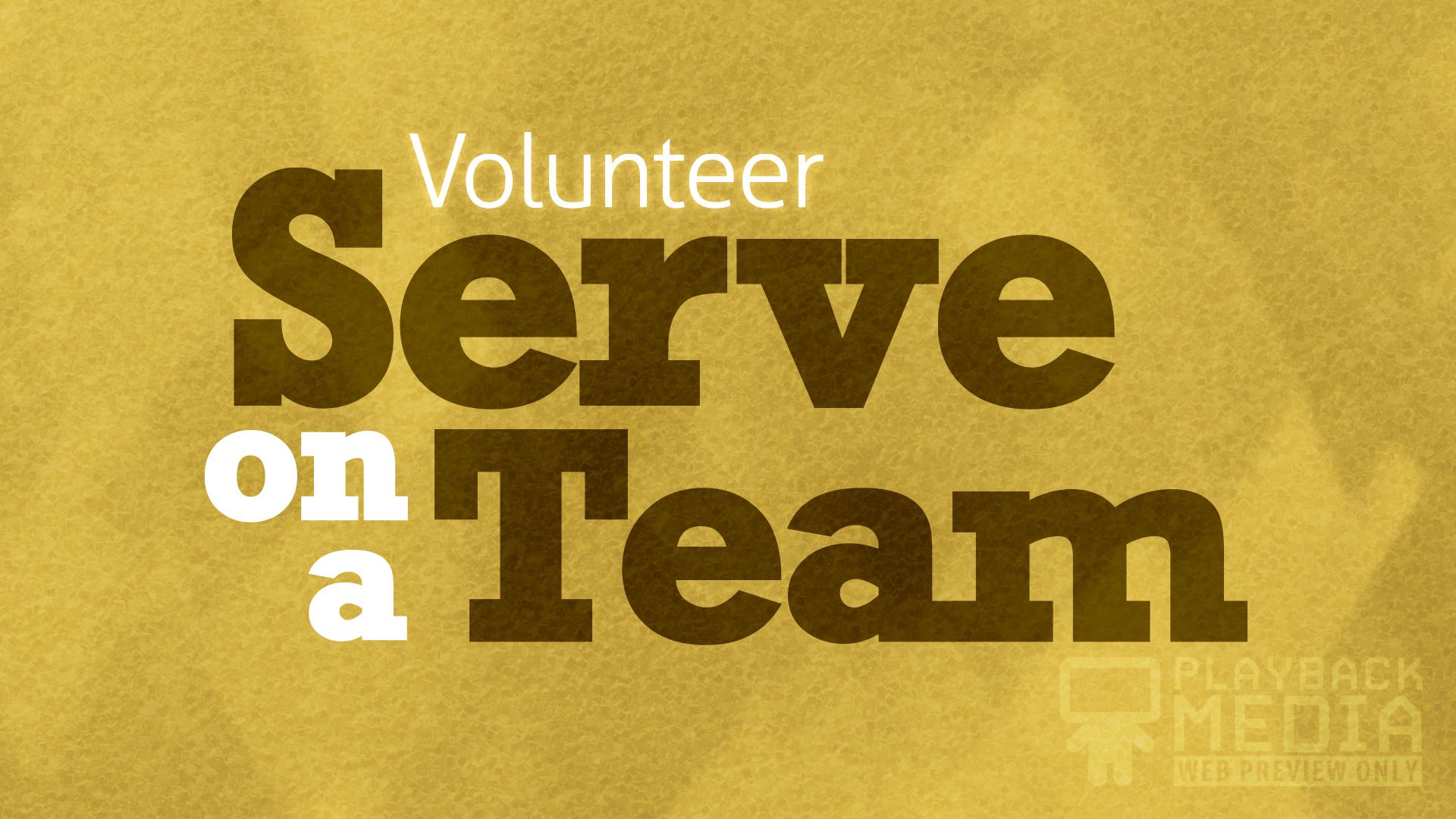 bold impression volunteer motion background