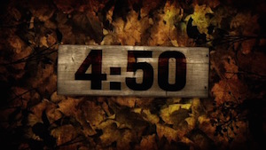 Burlap Leaves Church Countdown