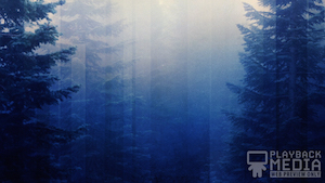 calming nature blue welcome still background