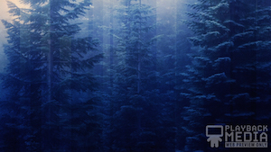 Calming Nature Blue 2 Motion Background