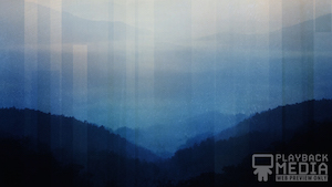 Calming Nature Blue 3 Motion Background