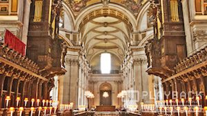Cathedral 5 Still Background