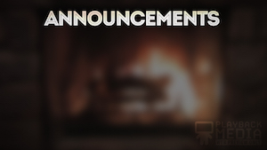Christmas Fireplace Announcements Motion Background