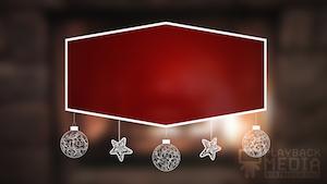 Christmas Fireplace 2 Still Background