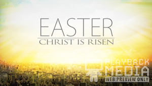City on a Hill Easter Welcome Motion Background
