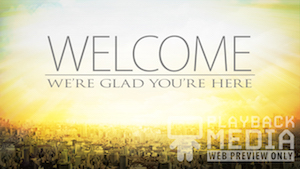 City on a Hill Welcome 2 Motion Background
