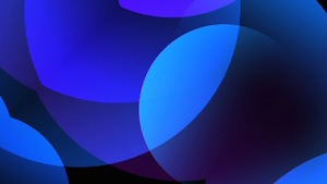 Clean Sphere Blue Motion Background
