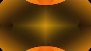 Clean Sphere Orange Motion Background
