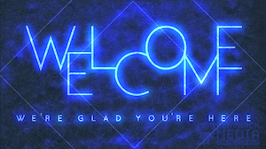 Cobalt Current Welcome Motion Background
