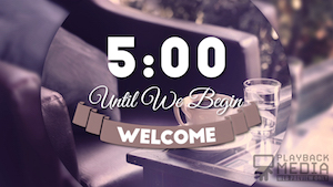 Coffee Break Countdown Image