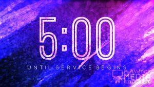 Color Dynamics Church Countdown