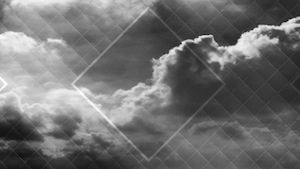 Colored Clouds Black Motion Background